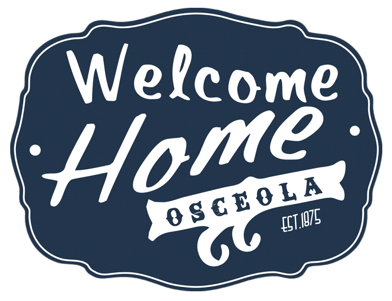 Welcome Home Osceola Web BLUEb